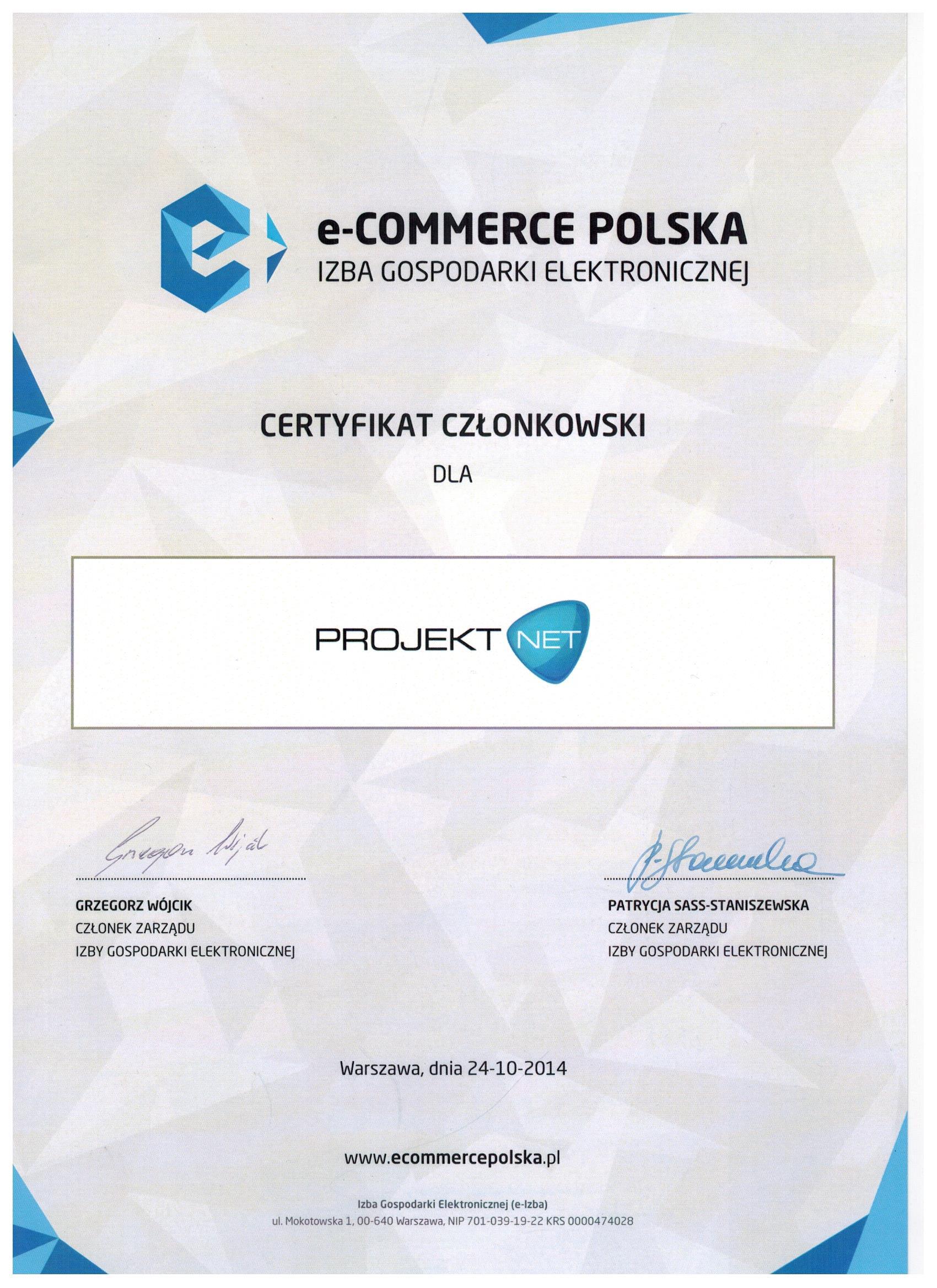 Członek E-Commerce Polska