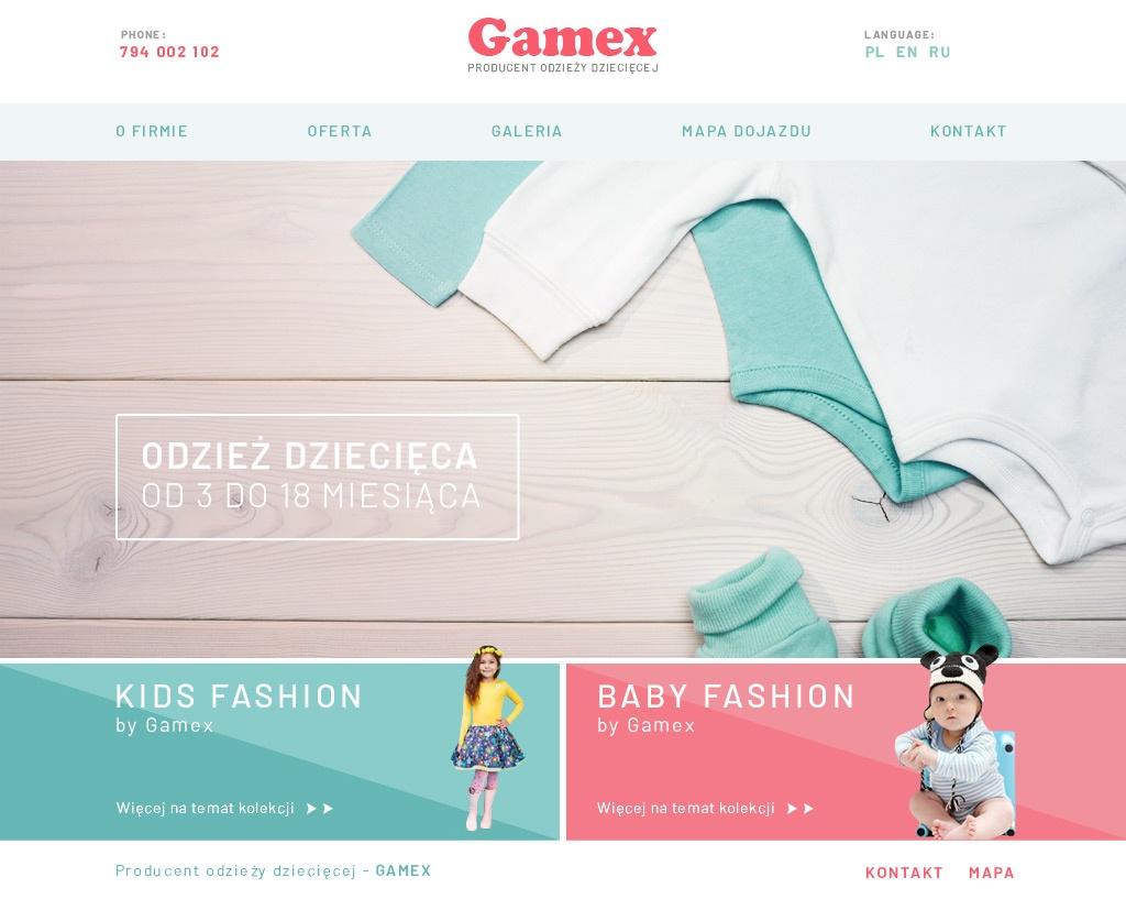 Gamex strona główna