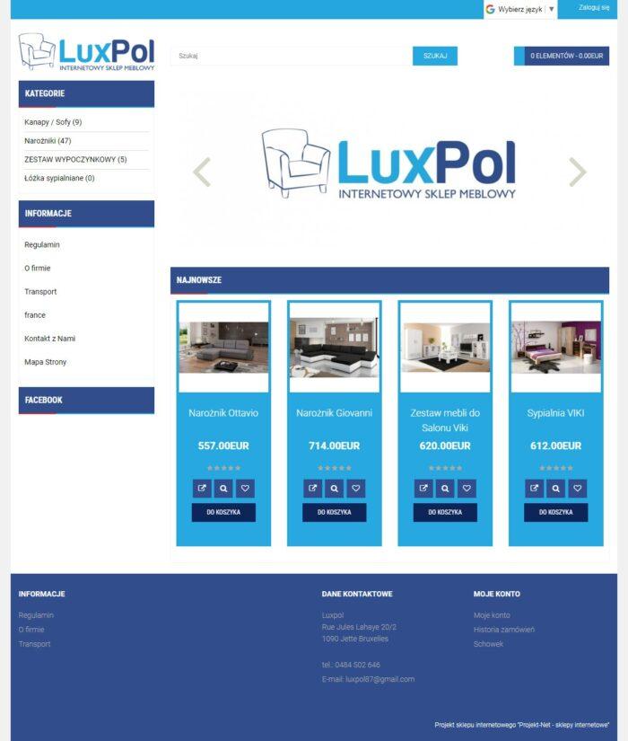 Strona gówna LUXPOL