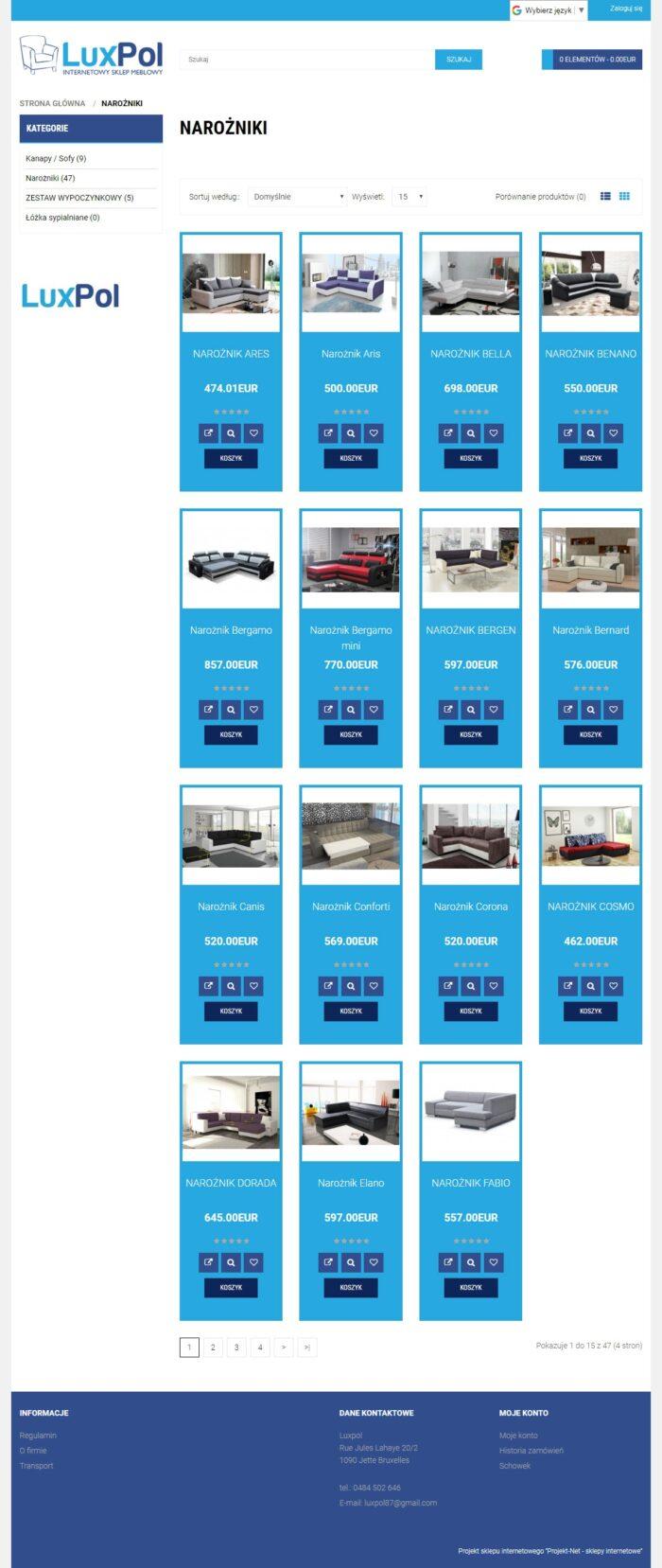 Strona kategorii LUXPOL