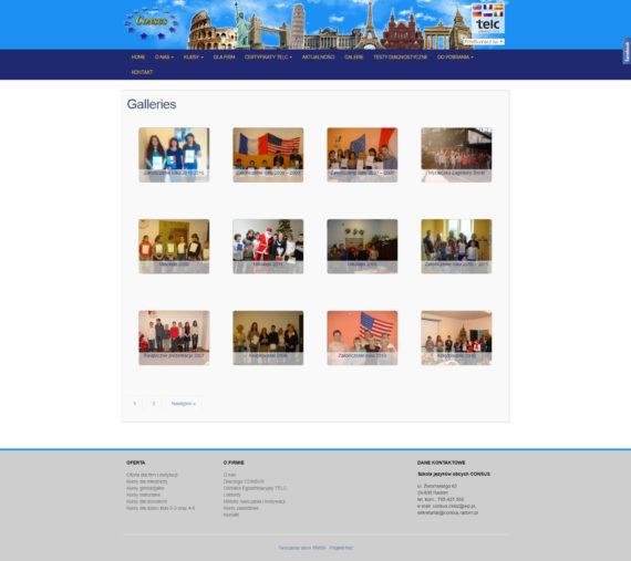 Strona galerii SJO Consus