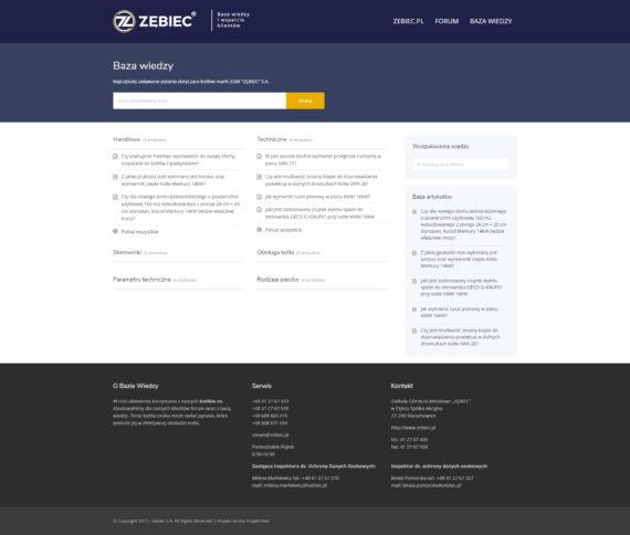 Strona Bazy Wiedzy Zębiec Baza Wiedzy