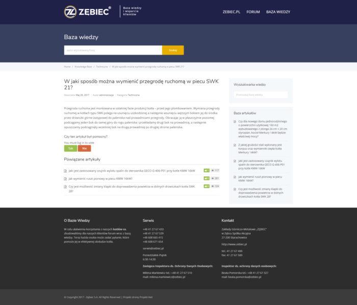 Strona wpisu Zębiec Baza Wiedzy