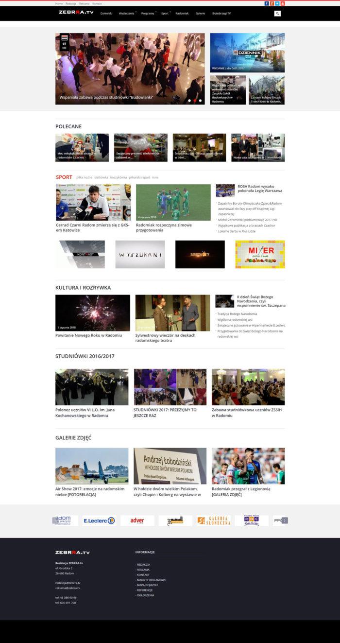 Strona główna Zebrra.TV