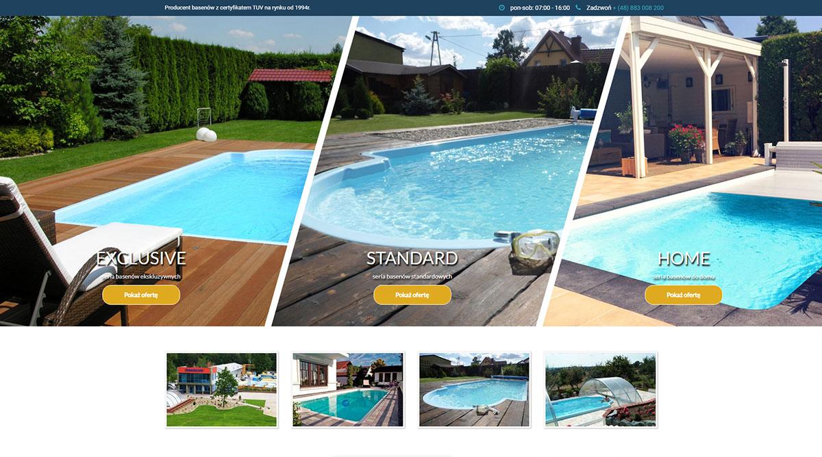 słoneczne baseny