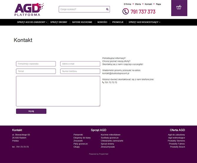 PlatformaAgd kontakt